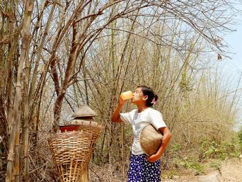 缅甸路边的免费饮水罐04