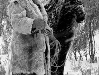 新疆北部哈萨克人冬季转场06