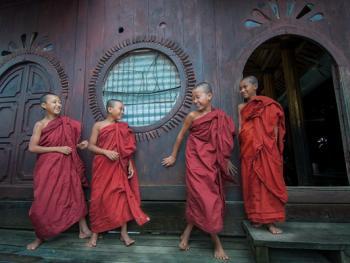 缅甸小和尚的寺院生活10