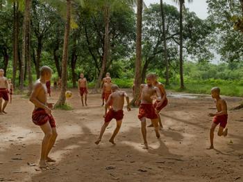 缅甸小和尚的寺院生活11