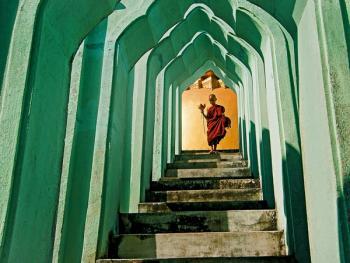 缅甸小和尚的寺院生活13