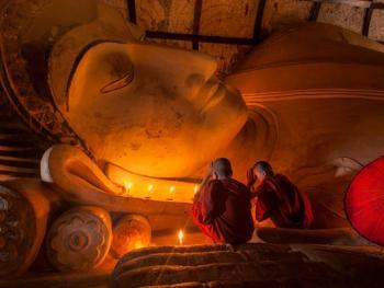 缅甸小和尚的寺院生活14
