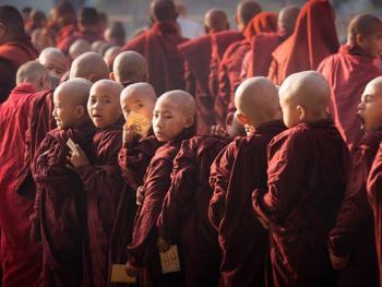 缅甸小和尚的寺院生活03