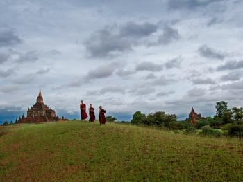 缅甸小和尚的寺院生活04