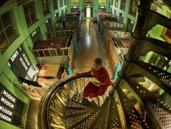 缅甸小和尚的寺院生活07