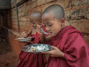 缅甸小和尚的寺院生活08