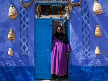 埃及努比亚人的服饰3