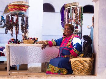 埃及努比亚人的服饰9