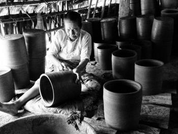 缅甸制陶人生活
