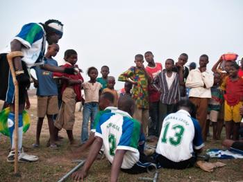 塞拉利昂残疾人的体育生活11