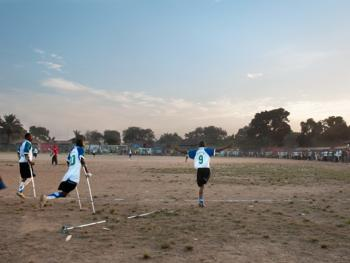 塞拉利昂残疾人的体育生活14