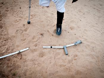塞拉利昂残疾人的体育生活05