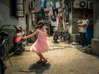 上海老弄堂里的阳光10