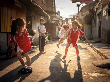上海老弄堂里的阳光14