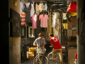 上海老弄堂里的阳光05