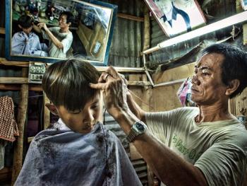 平挂岛的理发师10