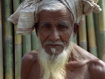 孟加拉放竹排11