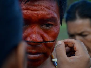 雅瓦纳瓦印第安人的庆典13