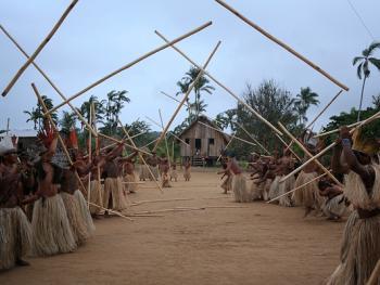 雅瓦纳瓦印第安人的庆典14