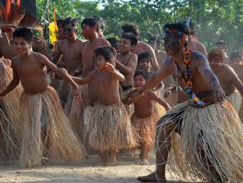 雅瓦纳瓦印第安人的庆典06