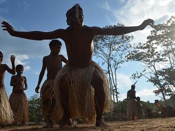 雅瓦纳瓦印第安人的庆典07