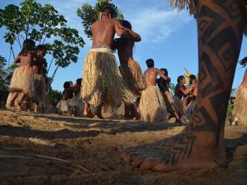 雅瓦纳瓦印第安人的庆典08