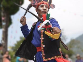 还山鸡节的祭祀仪式12