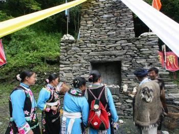 羌人祭山11