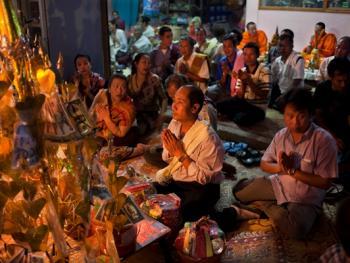 老挝葬礼05