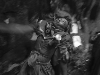 伏都教山洞仪式09