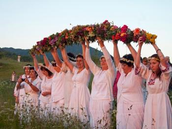罗多彼山夏至仪式12