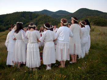 罗多彼山夏至仪式06