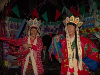 贵州山区的冲傩09