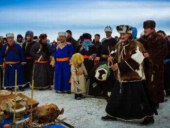 鄂温克族祭火节10