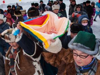 鄂温克族祭火节06