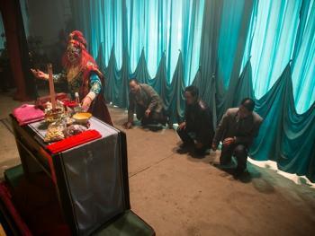 刘村的开台仪式09