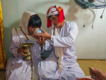 占族巴尼人的婚礼10