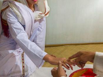 占族巴尼人的婚礼05