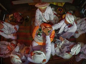 占族巴尼人的婚礼06