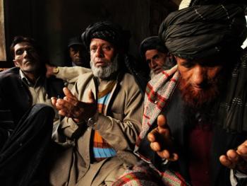 克什米尔吉卜赛穆斯林婚礼
