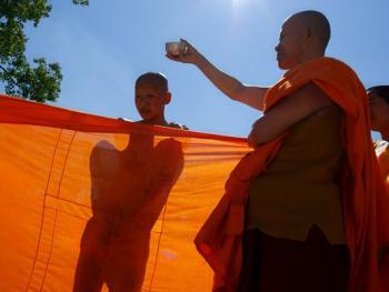 傣族男童入寺仪式11