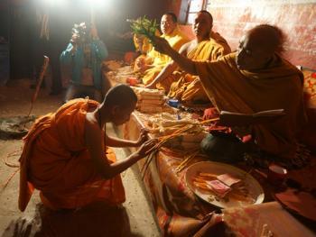 傣族男童入寺仪式13