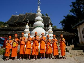 傣族男童入寺仪式14