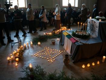洛姆瓦教首领克列维的葬礼