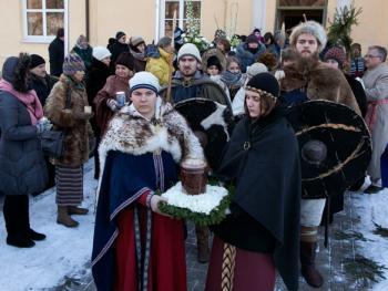 洛姆瓦教首领克列维的葬礼2