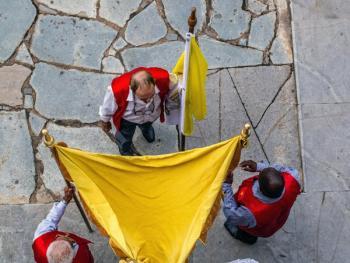 巴西复活节圣体匣游行
