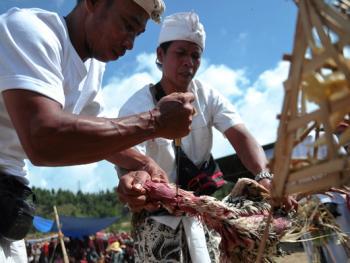 中爪哇西吉当火山祭10