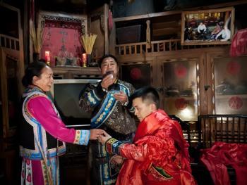 羌寨婚礼01