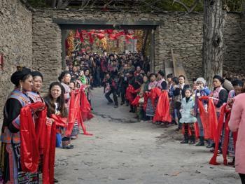 羌寨婚礼04