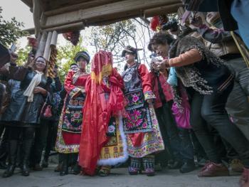 羌寨婚礼05